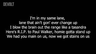 Young Thug   Gang Up ft  Wiz Khalifa, 2 Chainz & PnB Rock Lyrics