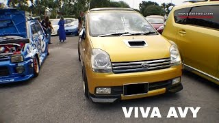 Perodua Viva Avy Gold Paint | Gathering Geng Sunroof GAGES 2016