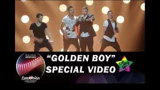 """Nadav Guedj - """"Golden Boy"""" - Special Multi-cam video - Eurovision 2015 (Israel)"""