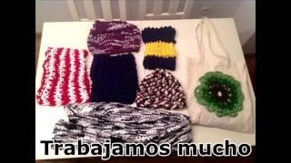 """Proyecto """"tejiendo barrio"""" asociación Focazul. Versión música Samba da Rua"""