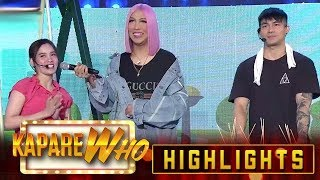 Ion and Jackque serve turnips and mangoes to Vice Ganda | It's Showtime KapareWho