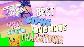 Best Giphs, Overlays and Transitions | Green and Blue Screen
