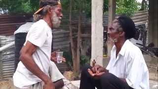 Two Jamaican Rasta Arguing Part1