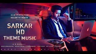 SARKAR Theme Music BGM | HD | Thalapathy Vijay | A.R.Rahman | SARKAR | HD 4K....