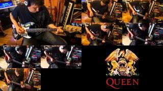 Queen - Killer Queen - Bass & Guitars cover (7 tracks)