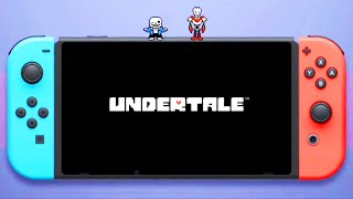 Undertale Switch Teaser Trailer