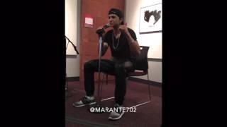Marante - Open Mic Performance @ UNLV
