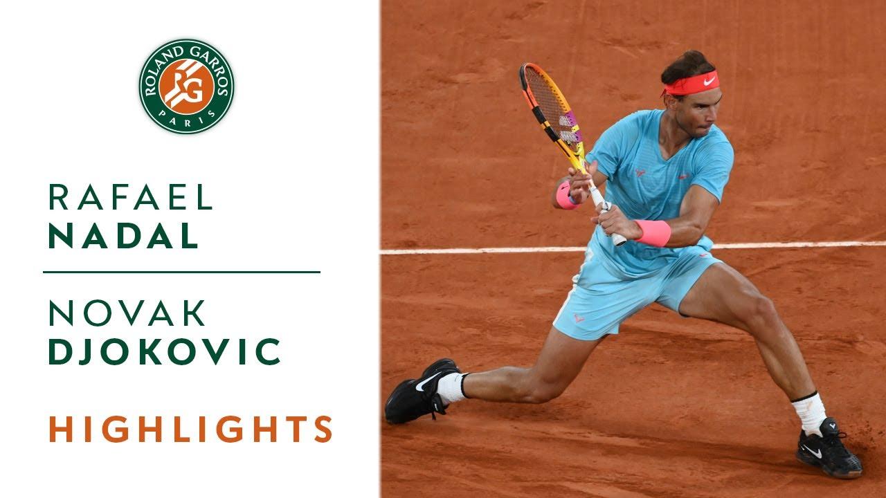 Rafael Nadal vs Novak Djokovic – French Open Final Highlights