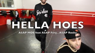 Emanuele Battista aka BIG - Hella Hoes (ft. A$AP Rocky, A$AP Ferg, A$AP Nast )