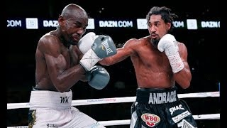 Demetrius Andrade vs Walter Kautondokwa Full Fight Knowdown Highlights