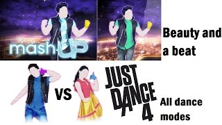 Beauty and a beat - Just Dance 4 (+Mashup, VS and PM)
