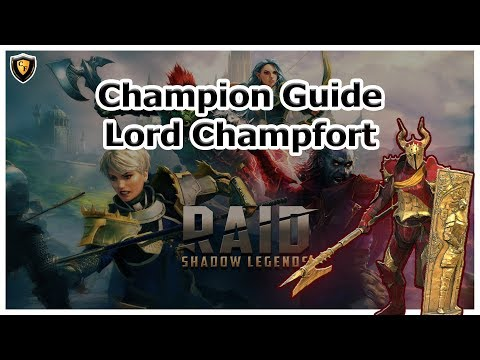 RAID Shadow Legends | Champion Guide | Lord Champfort