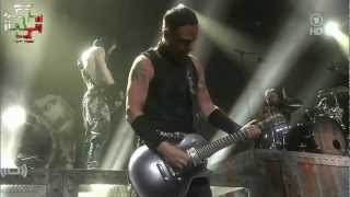 "RAMMSTEIN feat. Marilyn Manson - ""The Beautiful People"" LIVE! - ECHO Awards 2012"