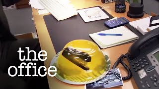 Stapler in Jello - The Office US width=