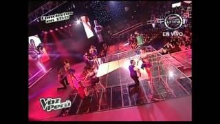 Pierre Drebeque canta 'Todo tiene su final' - La Voz Perú - Conciertos en vivo - Temporada 2