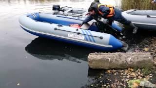 Лодки Salmon покатушки