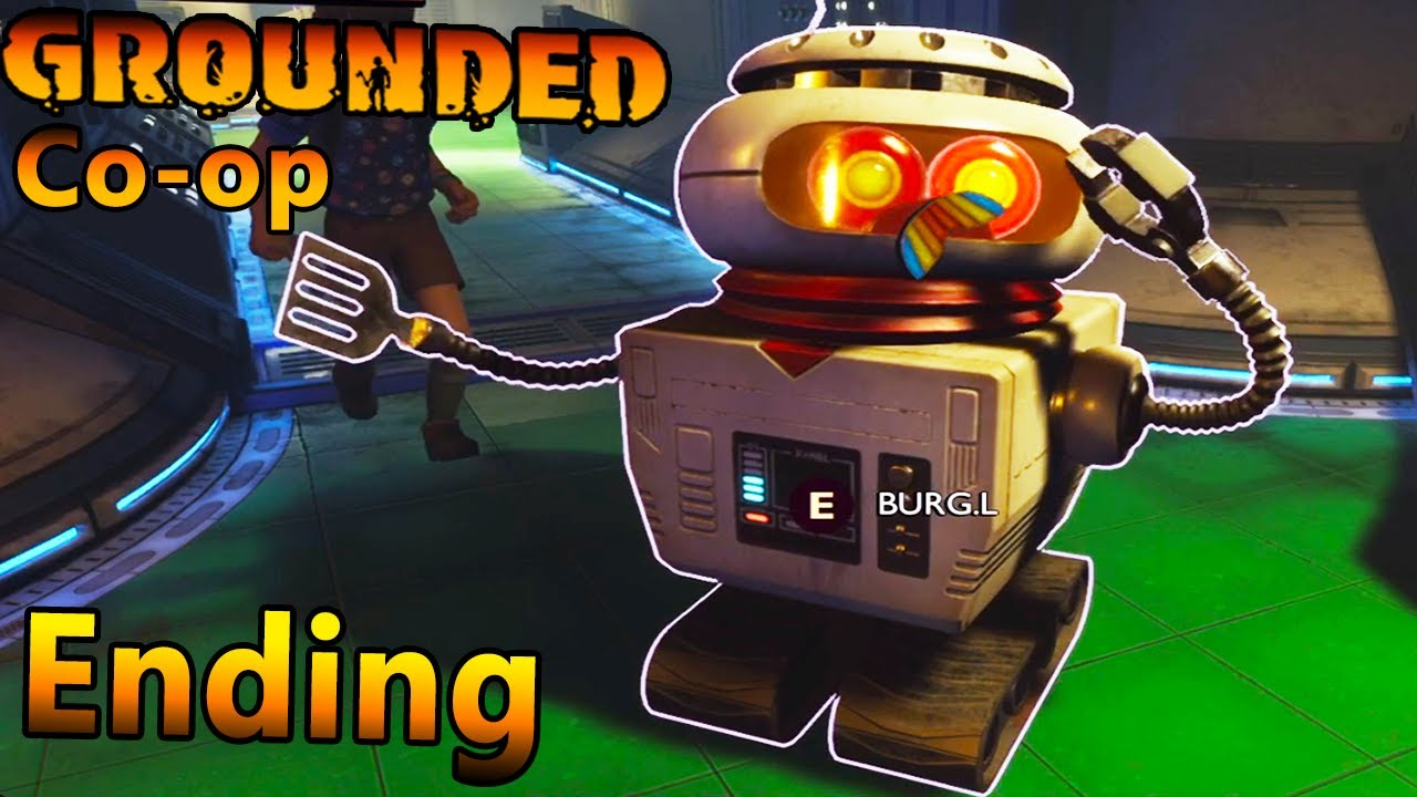 NightShadowXO - Ending Of Grounded Co-op For Now.. | End Of Story Content - Grounded Co-op Part 2