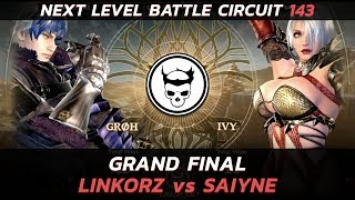 Soulcalibur 6 Grand Final - Linkorz (Groh) vs Saiyne (Ivy) - NLBC 143
