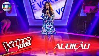 Ana Clara canta 'Cry Me a River' na Audição –  The Voice Kids Brasil | 2ª Temporada
