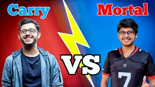 Carryislive Vs Mortal | Who is Best? or beastBoy Shub, Dynamo Gaming | Best Gaming channels in India