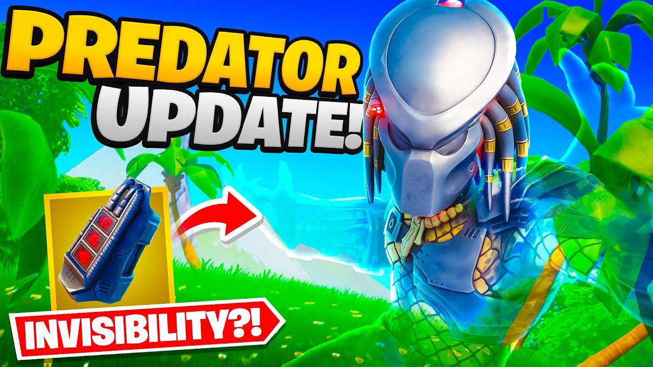 Lachlan - Fortnite Added Invisibility... (Predator Update)