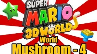 Super Mario 3D World - Trouble in Shadow-Play Alley (World Mushroom-4)