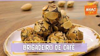 Brigadeiro de café com amêndoas torradas | Especial Receitas de Páscoa