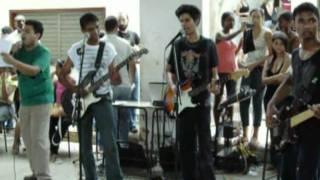 ROCKA'OS Toca Labios Compartidos (Maná)  - Live in Liceu Maranhense.avi
