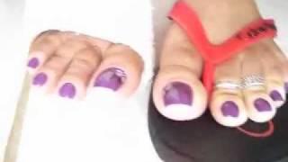 Pés, gesso e chulé !!    Feet plaster and foul