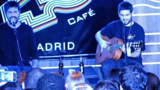 """ESTOPA. ShowCase en Café 40 Principales """"Me quedaré"""" (Madrid, 26/01/2012)"""