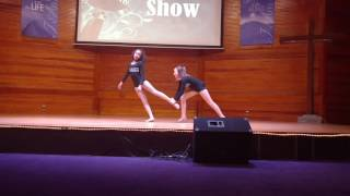 "Empire ""powerful"" lyrical dance Jazmin (10) Kalei (12)"