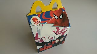 McDonald's Happy Meal Toy: Spiderman Special Edition Box (2018)