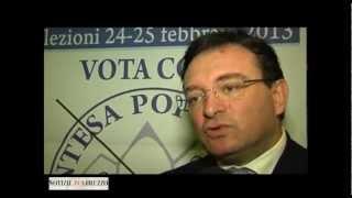 D'Orazio (Intesa Popolare): l'ambiente è motore di sviluppo per l'Abruzzo