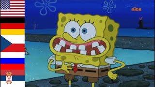 Spongebob speaking German in 9 different languages