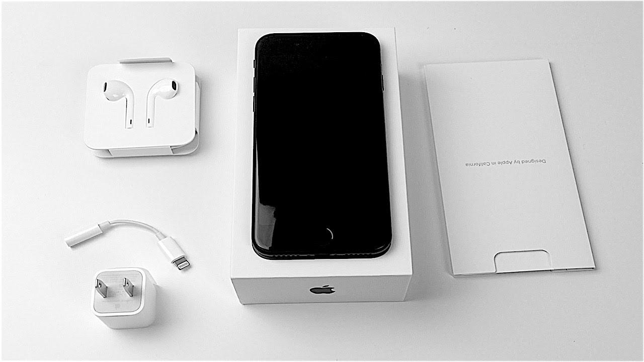 2eab87f5918ac1 iPhone 7 Unboxing: Matte Black! - YouTube