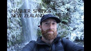 Hanmer Springs Waterfall Walk, New Zealand