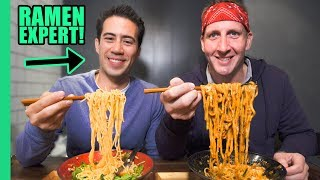 Ultimate TOKYO RAMEN Tour! RAMEN EXPERT Reveals the Best Noodle Spots in Town! width=