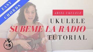 Subeme la radio - Ukulele Tutorial/Cover - Enrique Iglesias