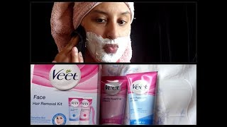 VEET FACIAL HAIR REMOVAL CREAM REVIEW width=