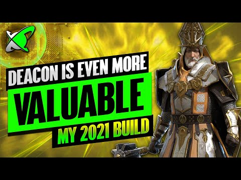 DEACON ARMSTRONG IS A NEW DUNGEON GOD | Masteries & Guide | Best Budget Builds |RAID: Shadow Legends