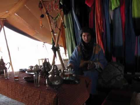 Morocco: Berber tent; tea