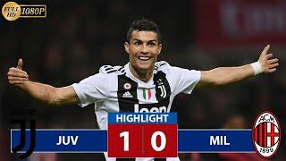 Juventus vs AC Milan 1-0  Cristiano Ronaldo All Goals & Extended Highlights Supercoppa Italiana
