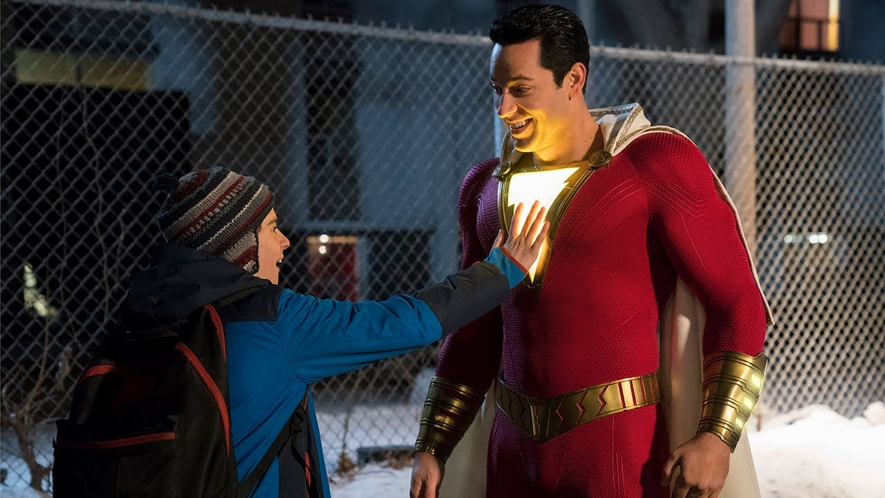 The First Shazam! Trailer Finally Lets The DC Universe Have Some Fun