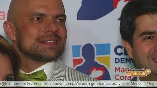 Paola Holguín y Juan Espinal inauguran sede de campaña [Noticias] - Telemedellín