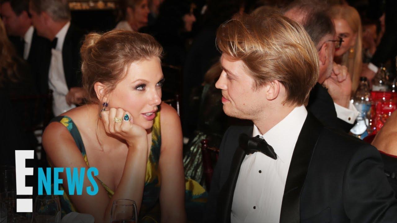 Taylor Swift & Joe Alwyn Show PDA after 2020 Golden Globes