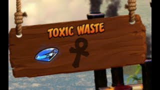 Crash Bandicoot Blue Gem Location - Toxic Waste Walkthrough