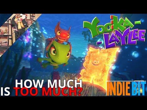 WTFF::: Indie Bit: Yooka-Laylee - Is it trash?