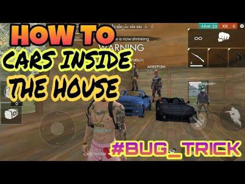 Download thumbnail for FREE FIRE| HOW TO CARS INSIDE THE