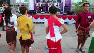 Rom Cha Cha Cha 2018 _ Kompong Ksan Temple * Khmer Krom Music Song and Dancing