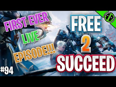 First Ever LIVE Free 2 Succeed!!! EPISODE 94